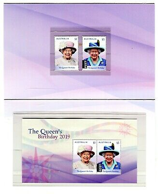 2019 Birthday of Her Majesty Queen Elizabeth POP With Stamps & Mini Sheet