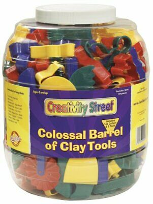 Chenillekraft Colossal Barrel Of Clay Tools - 144 / Each - Assorted - Plastic