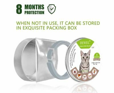 SORESTO Flea And Tick Collar For Cats Dogs 8 Month Protection- USA WAREHOUSE