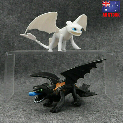 How to Train Your Dragon Night Light Fury Toothless Action Figure Model Kids Toy