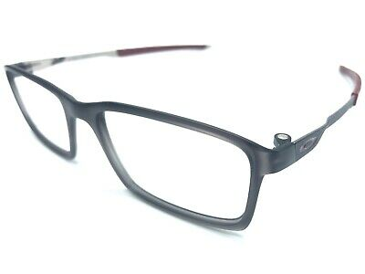 2a1421f4e4688 OAKLEY OX8097-0252 STEEL LINE S Eyeglass Frames 52-17mm Matte Black Ink 1896