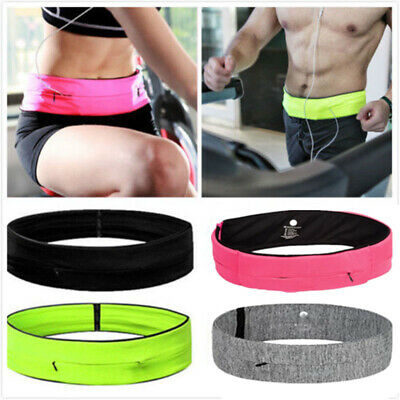Flip Style Belt Running Waistband Sport Waist Bag Fitness Pouch Mobile Cash Keys