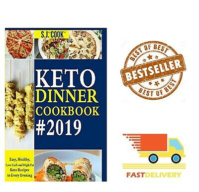 KETO DIET COOKBOOK DINNER For Beginners Ketogenic Diets Recipes Book, Paperback