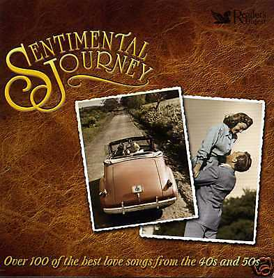 Sentimental Journey - 50S Peggy Lee Pat Boone Michael Holliday - 5 Cds - New!