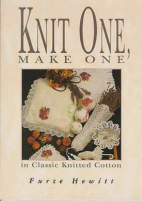 Knit One Make One  Lace Knitting   Lace Book Furze Hewitt