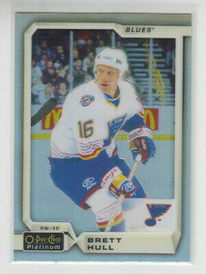 18/19 OPC Platinum St. Louis Blues Brett Hull Rainbow card #143