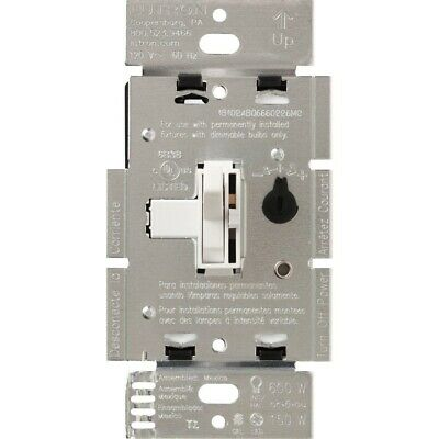 Lutron Toggler C.L Dimmer Switch for Dimmable LED Halogen Incandescent Bulbs