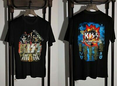 KISS T-Shirt 2019 End of the Road Tour Clothing Unisex S to 2XL