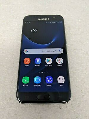Samsung Galaxy S7 G930A (AT&T) Clean ESN - 32GB - Android - Black Onyx - Used