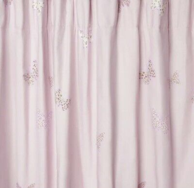 LAURA ASHLEY BELLA Butterfly Lined Blackout Curtains Girls ...