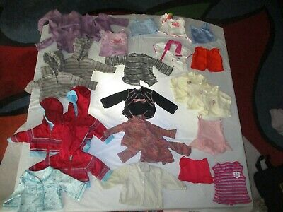 American Girl Doll Clothes 70 pieces ALL AG brand shirts pants jackets & more