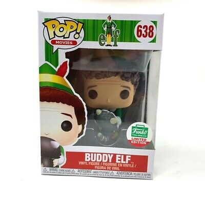 FUNKO POP! Buddy The Elf with Racoon 12 Days of Christmas Funko Shop Exclusive