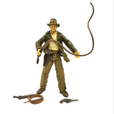 "3.75"" Indiana Jones Raiders Of The Lost Ark figure with accessory toy"