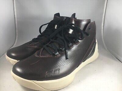 a5b6bdd977ef Under Armour UA Curry 3 Lux Limited Edition Oxblood Leather Size 8 1299661  945