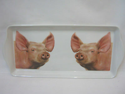 Farmyard Country Side Life Large Scatter Tray Serving Party Snack Food Melamine