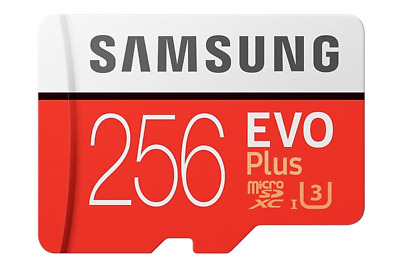 Samsung 128GB 256GB EVO Plus U3 Micro SD Card