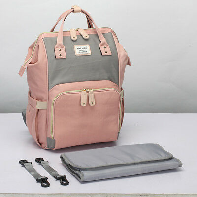 Large Baby Diaper Nappy Changing Mummy Bags Rucksack Hospital Maternity Backpack