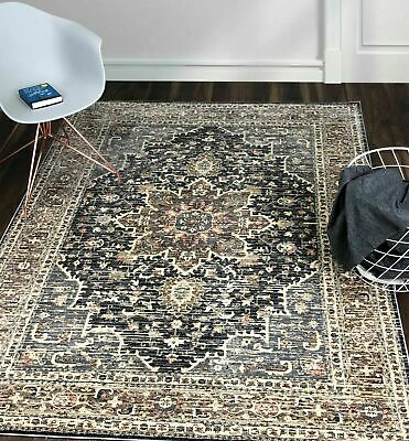 Extra Large Traditional Floor Rugs Persian Area Carpet Flowers Oriental Rug Mats