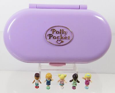 1992  Polly Pocket Vintage Lot Stampin' School Bluebird Toys