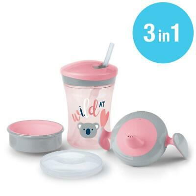 NUK Learn to Drink Trainer Cup Set 3 Stage