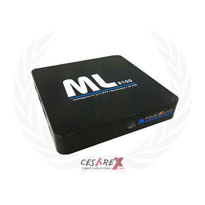 Decoder Medialink ML8100 Android & Linux IPTV Satellitare e Terrestre OS Linu...