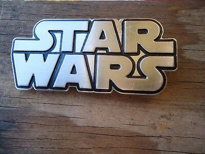 Belt Buckle Star Wars Movie Fanatic Hans Solo approx. 4.25 x 3.25 in (N)