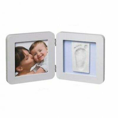 Baby Art My Baby Touch Print Frame Pastel Photo Memories Image Size 13 x 13 cm