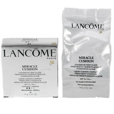 Lancome Miracle Cushion Foundation Refill 01 Pure Porcelaine