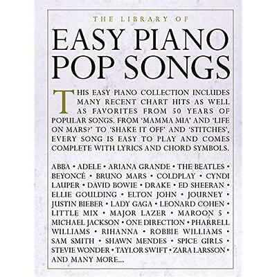 THE LIBRARY OF Pop Songs Piano Vocal Sheet Music Chords Lyrics 62