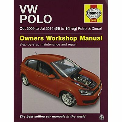 VW Polo Petrol and Diesel Owner's Workshop Manual: 09-1 - Paperback NEW Peter T.