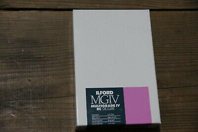 Ilford Multigrade IV RC Deluxe MGD.1M Blk & Wht Variable Contrast Paper, 3.5 X 5