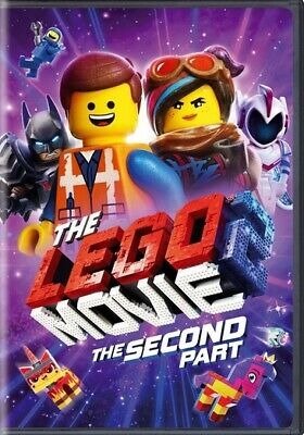 The Lego Movie 2: The Second Part (DVD,2019)