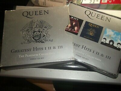 QUEEN - PLATINUM COLLECTION{Greatest Hits I.II & III](3cd Fatbox 2002) 51 Tracks