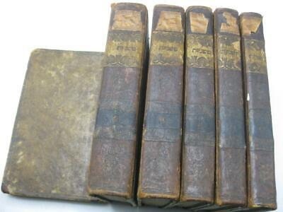 1817 Vienna COMPLETE 6 VOL MISHNAH - RARE VARIANT WITH LADINO INTRODUCTION משנה