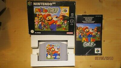 Mario Golf for Nintendo 64 N64. Boxed with Manual. Pal