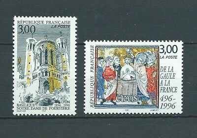 FRANCE - 1996 YT 3022 et 3024 - TIMBRES NEUFS** MNH LUXE