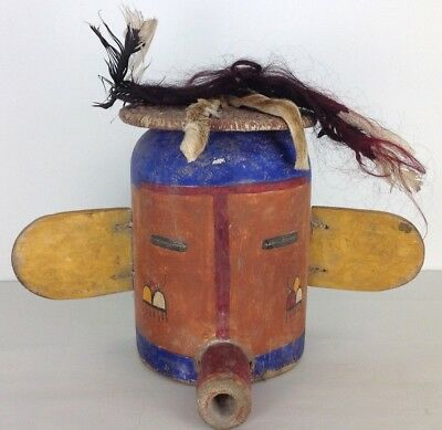 finest old Hopi Mask old hige 13 inch Germany collection