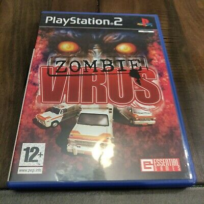 Zombie Virus (Sony PlayStation 2, 2005) Complete RARE UK Import in VGC, English!
