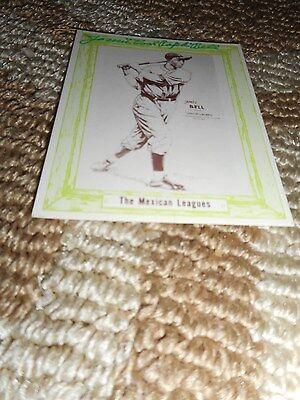 James Cool Papa Bell Signed 1976 Baseball Card Autograph Set Mexican League 1940