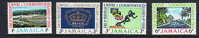 Jamaica #254-257  1966 8Th British Empire Games      Mint  Vf Nh  O.g