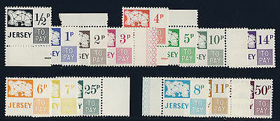 Jersey - Postage Due - Decimal Issue Sg D7/D20 Very Fine U/M
