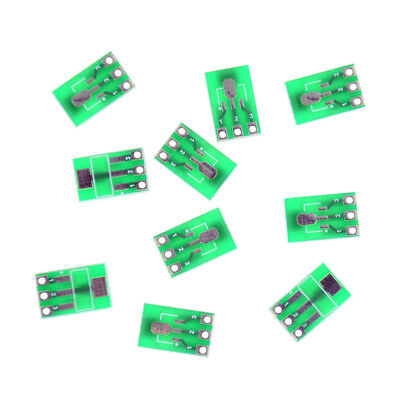 10pcs Double-Side SMD SOT223 to DIP SIP3 Adapter PCB Board DIY Converter AS