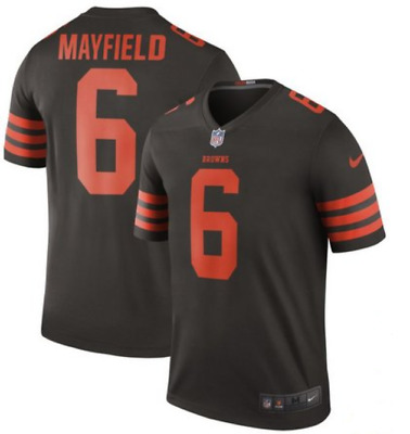 7c8a90d9f1f Baker Mayfield Color Rush Jersey Stitched 6 Cleveland Browns Dawg Pound