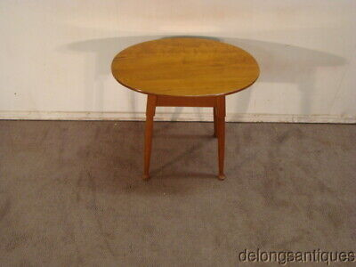 Stickley Solid Cherry Oval LampTable