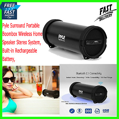 Original Loud Bluetooth Speaker Portable Wireless Boombox Rechargeable Stereo