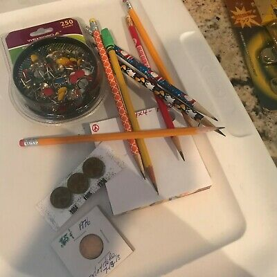Junk Drawer Lots of Stuff ( lot 1 ) Very Nice Lot Only $5.40 very reasonable WOW