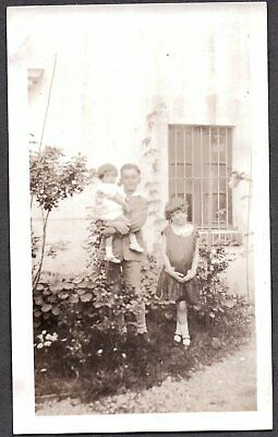Vintage Photograph Girls Boys Fashion Doctor F. Zarraga? Monterrey Mexico Photo