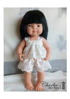 38cm Miniland doll clothes (MADE IN PERTH)