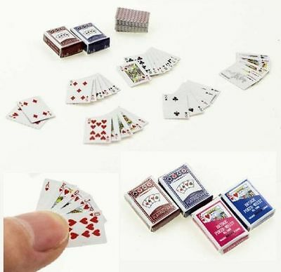 1pc Dollhouse Miniature Mini Book Paper Notebook Magazine Home Decor Gift=Ran BH