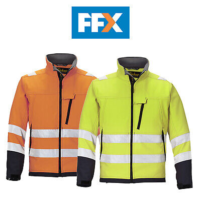 Snickers 1213 Hi Vis Soft Shell Jacket Class 3 - Various Colours and Sizes